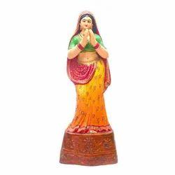 Devki Mata Statue In Namaste Position