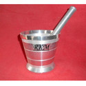 Aluminum Mortar Pestle (Khal Dasta)