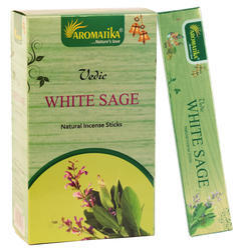 Aromatika Natural Masala Incense White Sage-15 Gram Pack