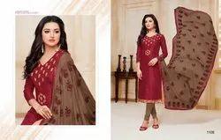 Kasmeera Kaamini Silk Salwar Suit