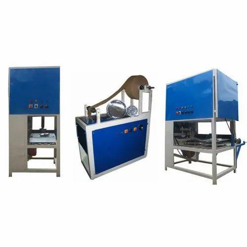 Silver Paper Dona Plate Machine