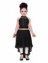 Black Kids Partywear Dress For Girls