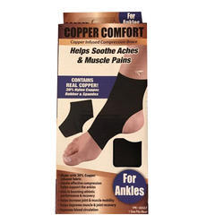 Copper Comfort For Ankles (278-50)
