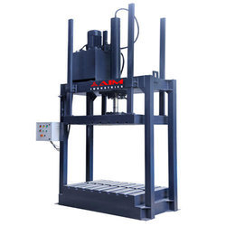 Hydraulic Tarpaulin Bale Press