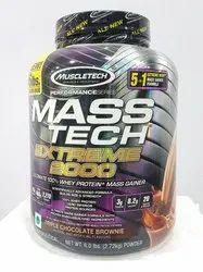Muscle Tech Whey Proteins Mass Tech, Packaging Type: Box