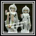 Makrana Marble Radha Krishna Statues
