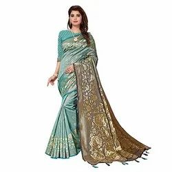 N28 Party Wear Kota Silk Saree