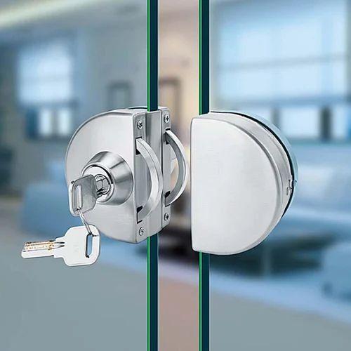 Glass Door Lock Polished Gs Enterprises Id 19726838055