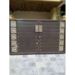 Brown And Golden Iron Main Gate  sc 1 st  IndiaMART & Iron Gate Manufacturers Suppliers u0026 Dealers in Jaipur ???? ...