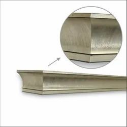 Creased Foil Window Pelmets