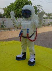 Space Man Fur Costume