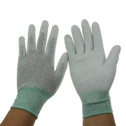 ESD Pu Coated Top Fit Gloves