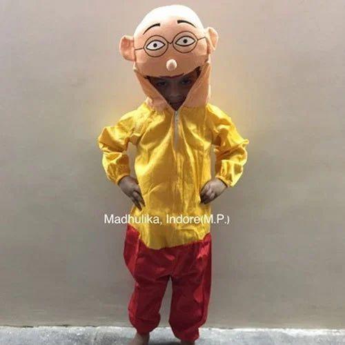 Small Medium Plain Motu Patlu Cartoon Costumes Rs 175 Piece Id