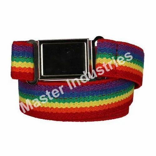 f6ea8e87bd9 Master Industries Multicolor Polyester Waist Belt