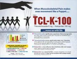 Thiocolchicoside 8 Mg Ketoprofen 100 Mg