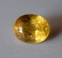 Natural Yellow Sapphire-3.58  Carat Igi Certified