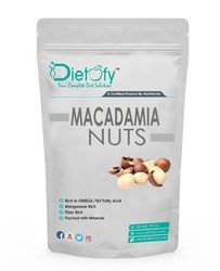 Dietofy Macadamia Nuts, Packaging Type: Plastic Box, Packaging Size: 200 Gms