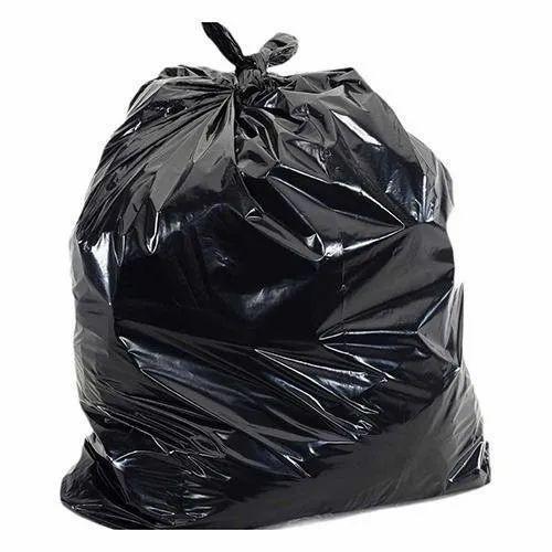 Black Disposable Garbage Trash Bag, Capacity: 10 kg, Rs 70 /kilogram   ID:  20546309430