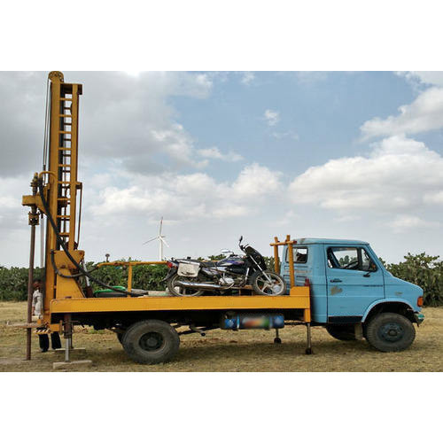 Hydraulic Boring Rig Machine, Size: 10ft, Drilling Rig Type: Land Based Drilling Rigs