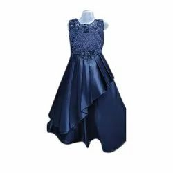 Kids Embroidered Gown