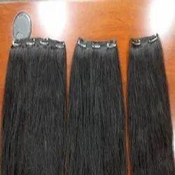 Human Hair Wig Clip Hair Extension Hair King