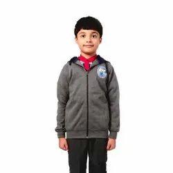 Wind Cheaters Faux Leather Plain Full Sleeves Kendriya Vidyalaya New Winter Jackets