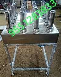 Stainless Steel Puttu Maker, For Hotel/Restaurant, Material Grade: Ss 304, Ss 202