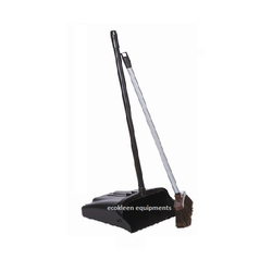 Lobby Dustpan with Broom
