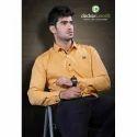 Mens Cotton Full Sleeve Plain Shirt, Size: M-2xl