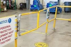 Industrial Safety Gates With Self Closing Hinge