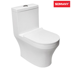 Ceramic Floor Mounted Somany Dior - One Piece Toilet