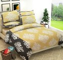 Printed Cotton Bed Sheet Double Bed New Design