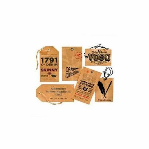 Brown Cardboard Clothes Hang Tag, Rs 1 /piece, City Tag