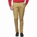 Mens Plain Formal Cotton Trouser
