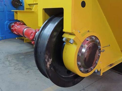 EOT Crane Geared Wheel