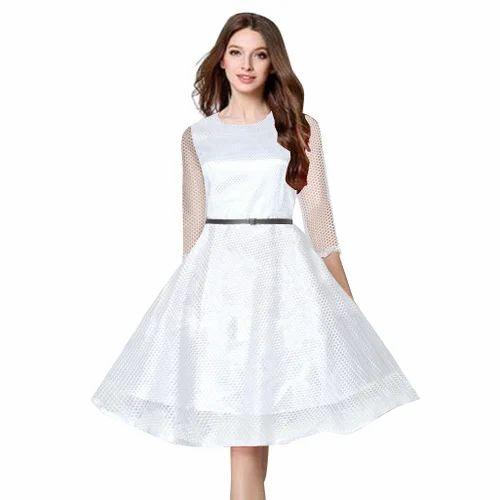 White Designer Dress Rs 330 Piece Jepsy Lifestyle Id 19995203230
