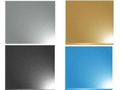 Sandblast Stainless Steel Decorative Square Sheet, Size: 5 x 10 feet