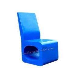 Unique Blue Chair