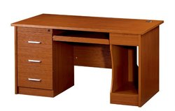 WOODEN DRAWER AND CUPBOARD TABLE