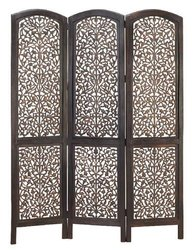 Wooden Jali carving screen, 3