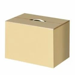 Cardboard Single Wall - 3 Ply Single Wall Corrugated Box, for Packaging