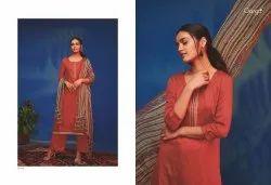 Semi-Stitched Ganga Suits