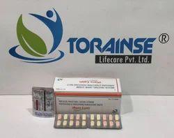 Nimesulide 100mg   Paracetamol 325mg   Caffeine 25mg   Cetrizine Hydrochloride 5mg   Phenylephrine H