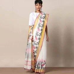 Ladies Jacquard Saree