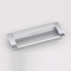 Silver Concealed Handles