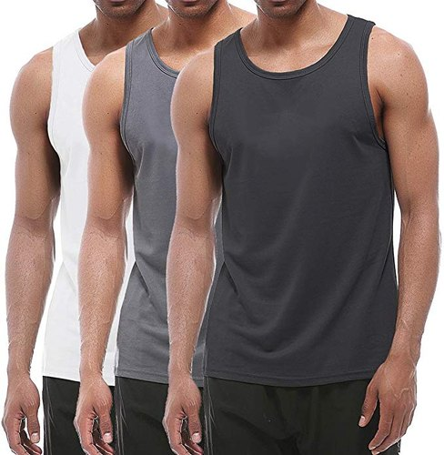 Plain Cotton Mens Tank Tops & Sleeveless T-Shirts, Rs 150 /piece | ID:  21916562697