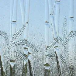 Multicolor Transparent Decorative Glass