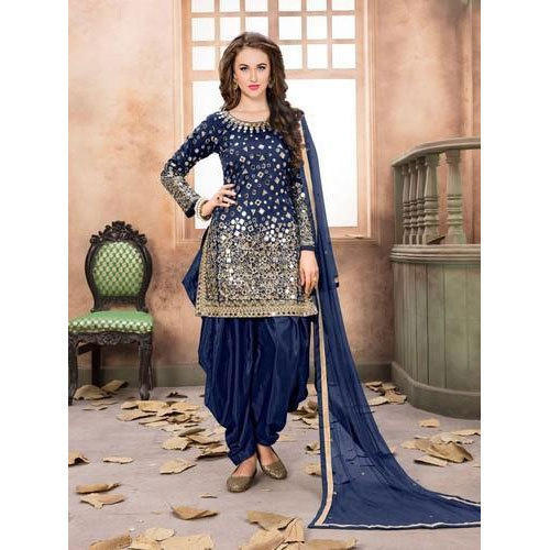 b1269f8a82 Party Wear And Patiala Salwar Ladies Designer Salwar Suit, Rs 600 ...