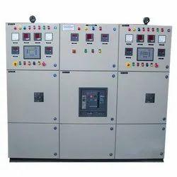 Powder Coated 3 - Phase Generator Synchronization Panel, IP Rating: IP55