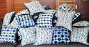 Indigo Cotton Cushion Cover